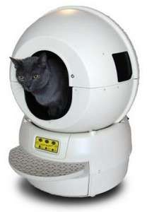 Technology For Pets - The Litter Robot Self-Cleaning Litter Box