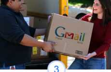 Gmail Paper: Surprise Paper Mail by Google