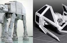 Star Wars and Star Trek Spaceships That You Can Print And Fold