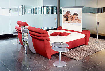 Multimedia Bed - The RUF-Cinema