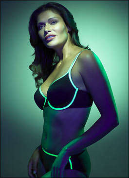 Glow in the Dark Lingerie - Playtex Glows for Charity