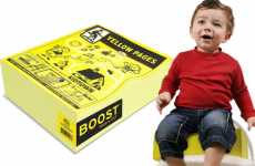 Yellow Pages Booster Seat
