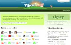 Social Mood Management Website