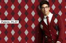Pattern-Matching Lookbooks - The Class Fall Campaign Showcases Hot Autumn Menswear