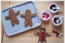 Knitted Holiday Treats - KTBdesigns Gingerbread Man Patterns Let You Make Calorie-Free Crafts