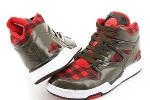 Reebok Releases Omni Lite Plaid Sneaker