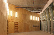 Underwhelming Architecture - The Performa Hub is a Boring Plywood Room