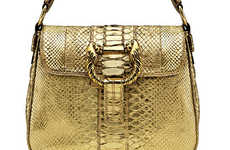 Gilt Serpentine Handbags