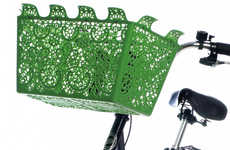 Beautiful Bike Baskets - The Useful and Pretty Carrie by Marie-Louise Gustafsson