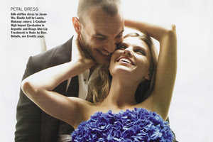 Salvatore Morale and Maryna Linchuk Get Cozy for 'Trading Up' in Allur