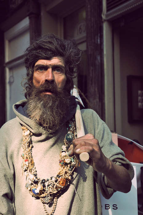 Homeless Hipster Shoots - The Original Hipster is a Social Commentary on Wealth and Class