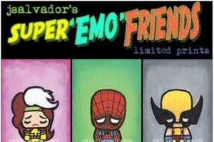 J Salvador Reimagines Heroes With His Super Emo Friends Collection