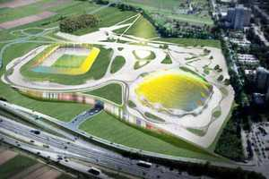 The Slovenia Sports Park Stozice is a Weather-Sensitive Structure