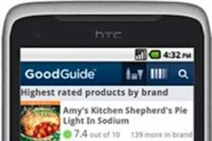 The GoodGuide iPhone App Scans Barcodes For Product Information