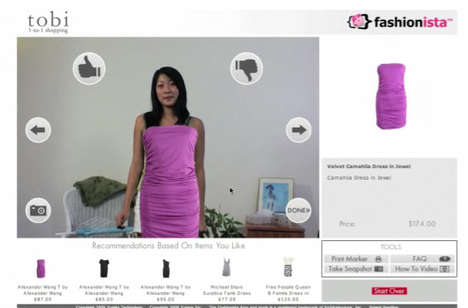 Fitting Room Simulators - Try on Clothes With Tobi.com's Augmented Reality Dressing Room