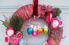 Fuchsia Wreaths