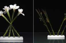Test Tube Flower Arangements