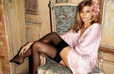 Bewitching Boudoir Campaigns - Lingerie-Clad Maryna Linchuk by Terry Richardson for H&M