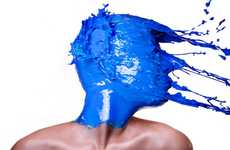 Paint-Splashing Portraits
