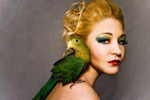 Aaron McPolin 'Birdy' & 'Colour' Series Showcases Artistic Beauty Shots