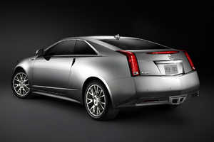 2011 Cadillac CTS Coupe Isn't Your Grandma's Caddy