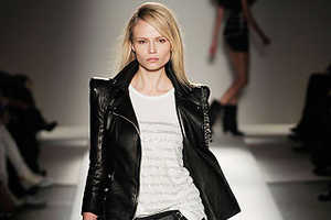Leather is no Longer Just for Biker Chicks