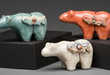 Raku Ceramic Animals