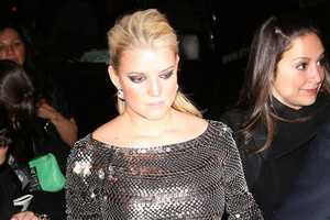 The Jessica Simpson Disco Ball Dress Hugs all the Wrong Places