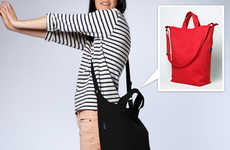 Reuseable Chic Purses - The Baggu Duck Bag is Great for Shopping and Going Out