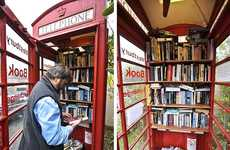 Phone Booth Libraries - Community-Run 24-Hour Micro Library in Somerset