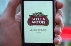 Brew Finder Apps - The Stella Artois 'Le Bar Guide' App Leads You to Your Favorite Beer