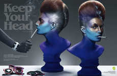 Smoking Chromatic Busts - 'Keep Your Head' With the Paco Peregrin Neo2 Editorial