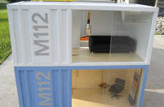 Shipping Container Doll Houses - The M112 Pod Miniatures Teach Children Green Living
