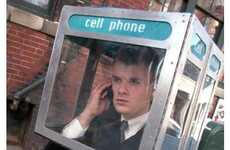 12 Phone Booth Creations - From Predatory Phone Booths to Mobile Phone Booths