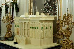 The White House Holiday Decorations Include Some Hefty Ornaments