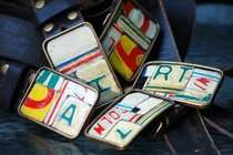 License Plate Belts