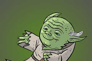 Adam Koford Replaces the Blue Bird With Yoda, Mario, Harry Potter