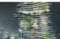 30 Green Skyscrapers - Some of the Most Creative Eco High Rises Seen on Trend Hunter