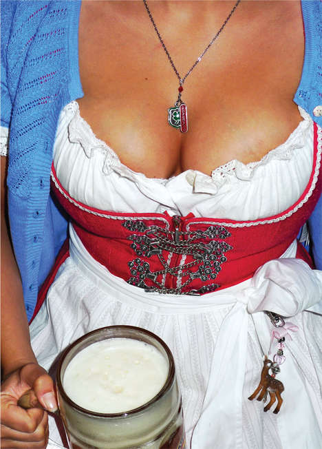 Busty Bavarian Photoshoots