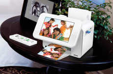Photo Frame Printers - The Epson PictureMate Show Displays Memories and Prints Them