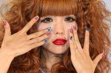 Freaky Fingernail Art - Tokyo Nail Expo 2009 Showcases Some Serious Manicures