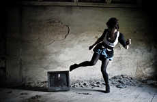 Apocalyptic TV-Smashing - 'Post Nuclear' by Antoni Szczupal Depicts a Gritty, Edgy World