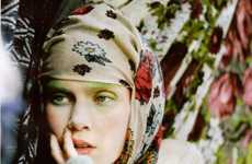 Green Eyebrows - 'Grey Gardens' in Crash Magazine Thrills With Fantasy and Romance