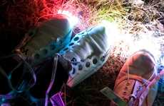 Solar Shoe Lights - Solar Street Light Kit is Ultimate in Holiday Recycling