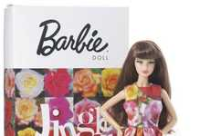 Floral Designer Dolls - The Limited Edition Comme Des Garcons Barbie by Rei Kawakubo