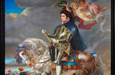The Equestrian Portrait of King Philip Ii is an Impressive Art Piece