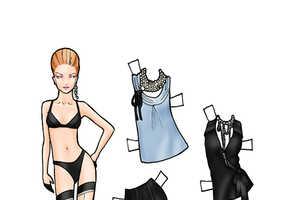 Toronto'S LG Fashion Week Paper Dolls by Danielle Meder