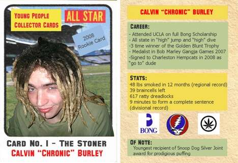 Stereotype Trading Cards