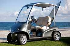$20,000 Golf Carts - The Garia Golf Cart is Built for the Road But Not Allowed On It