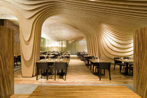 The BanQ Restaurant in Boston is a Creatively Designed Space